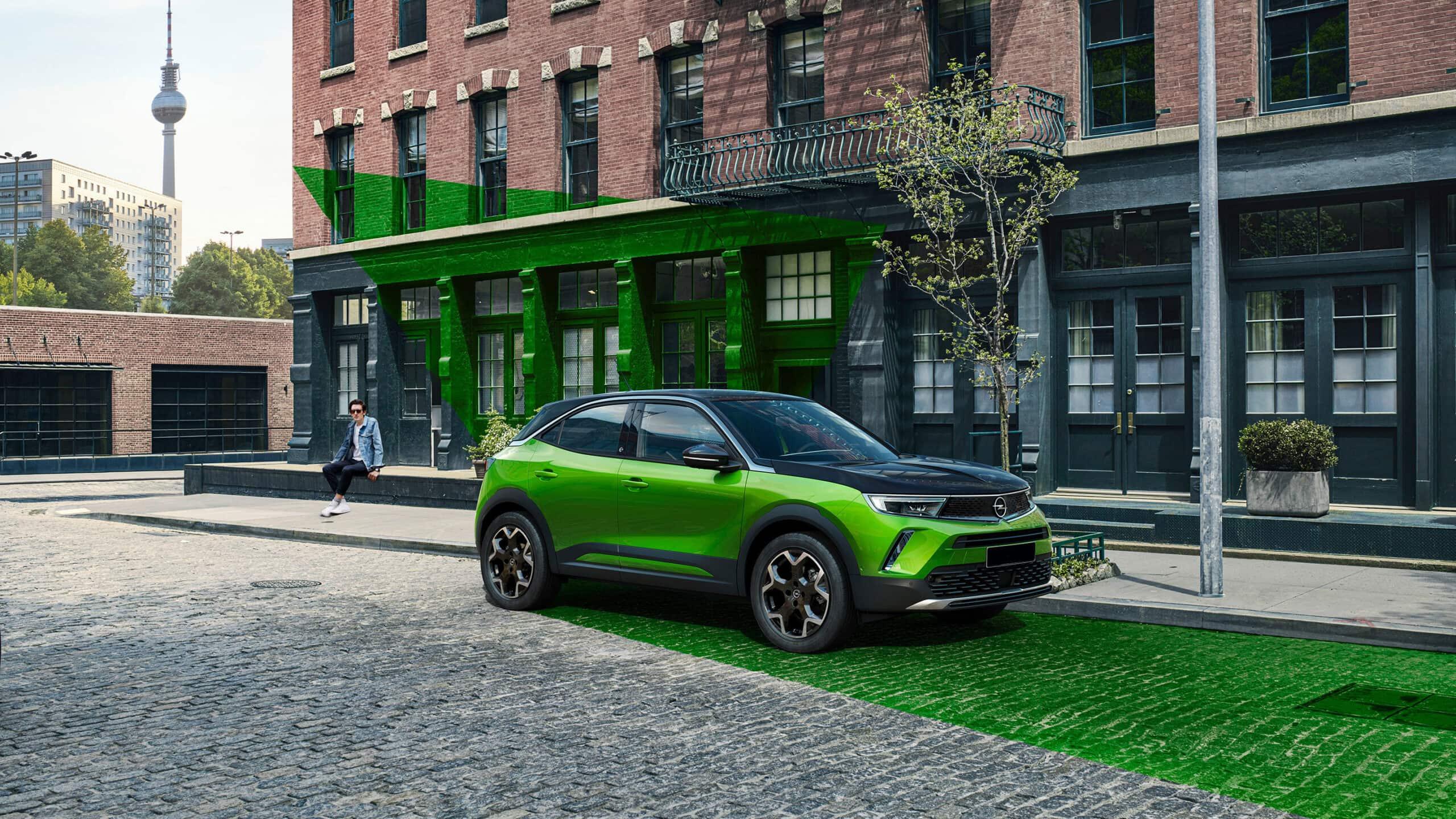 New Opel Mokka-e